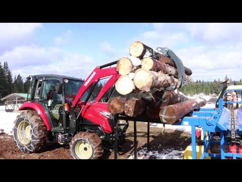 The Ultimate Firewood Cutting Machine