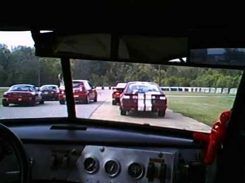 Ex- Dan Gallant 1957 Volvo 444 .. B Sedan  Race Car At Talladega GP Track  Oct 11 2015