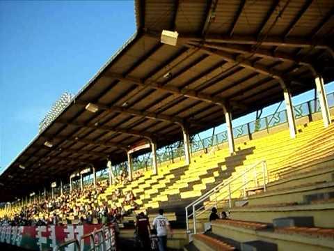 Chegada ao Estádio Raulino de Oliveira - 3/9/2011