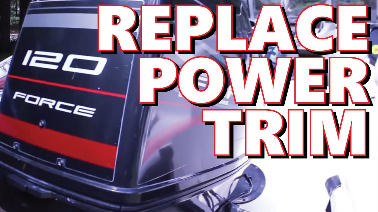 hight resolution of 1996 mercury force 120hp power trim replacement part 8m0055012 youtube
