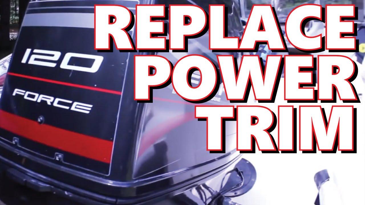 1996 mercury force 120hp power trim replacement part 8m0055012 youtube [ 1280 x 720 Pixel ]