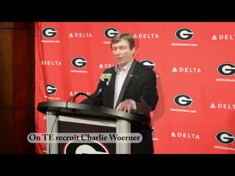 Kirby Smart speaks on recruiting process, pressure on QB Jacob Eason, and TE Charlie Woerner