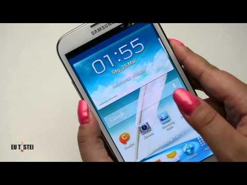 Phablet Samsung Galaxy Note II N7100 - Resenha Brasil