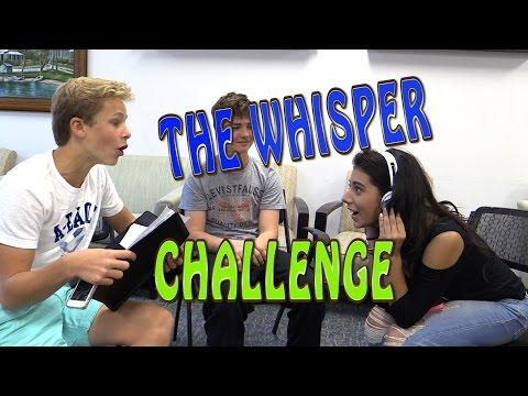 Giselle - Whisper Challenge con Jordan, Chris y una fan invitada
