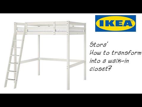 come-trasformare-un-letto-a-soppalco-ikea-stora-in-una-cabina-armadio.-diy
