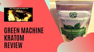 Green Machine Kratom Review: Using Kratom for Fibromyalgia and Chronic Fatigue Syndrome