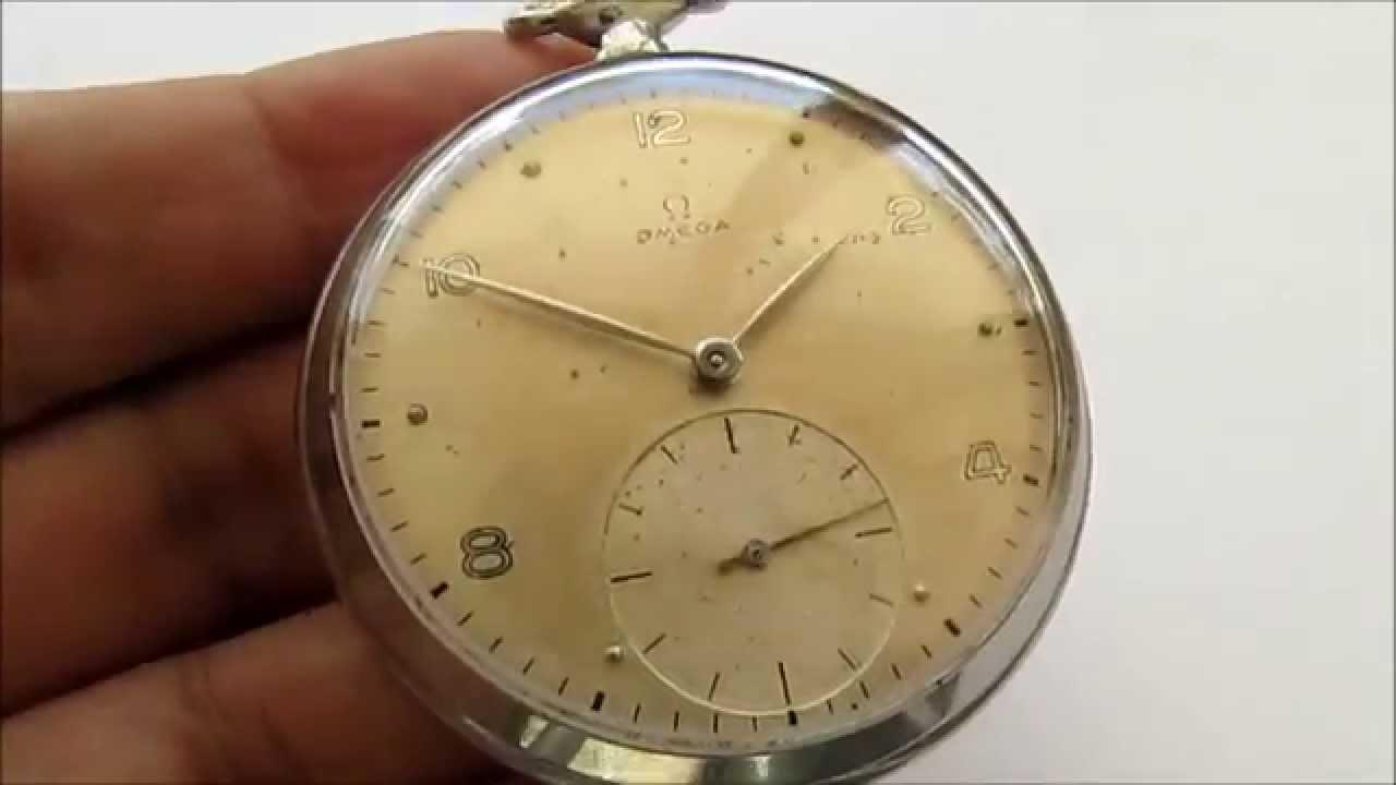 Omega Vintage Pocket Watch Youtube