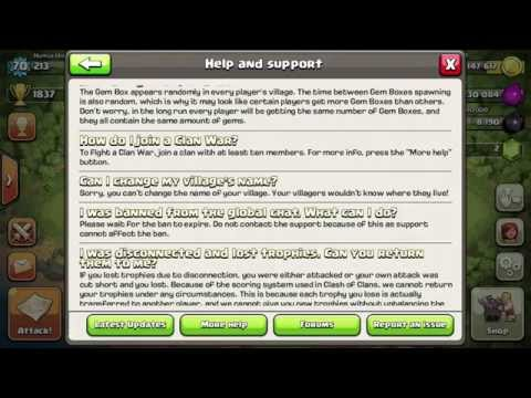 Clash Of Clans How To Change Your Village Name