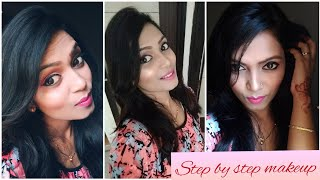 how to do makeup step by step in hindi, how to do makeup step by step for beginners | Puja Bharati