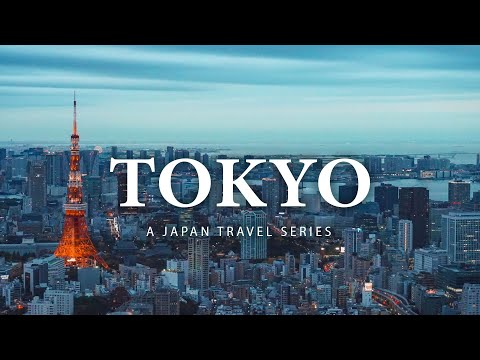 Our First Time in Tokyo |Part 1| Japan Travel Film - Sony A7III Vlog