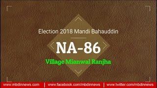 Live from NA-86 Mianwal Ranjha, awam ki raye | Mandi Bahuddin …