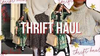 Winter Try On Thrift Haul | We…