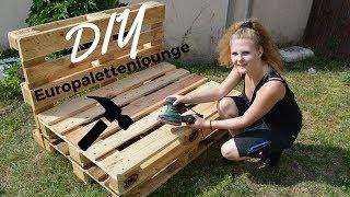 DIY Lounge aus Europaletten | Katherina Kathi