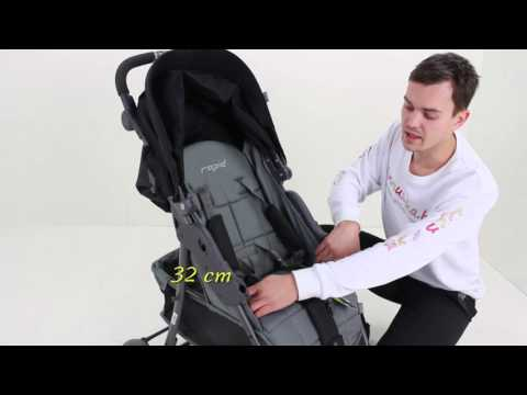 Обзор: Прогулочная коляска 4 Baby Rapid