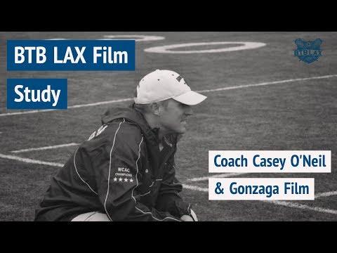 BTB LAX Film Study #4:  Coach Casey O'Neil & Gonzaga Film