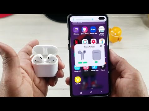 Using Apple Airpods With Galaxy S10 Plus...