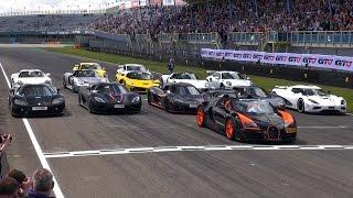 Hypercars Accelerations! 5x Koenigsegg, LaFerrari, 918 Spyder, Veyron WRC, SLR Stirling Moss