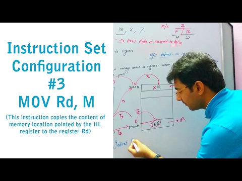 Microprocessor Lecture 12 | Instruction Set of 8085 #3 MOV Rd, M | by Er. Pawan Chandani
