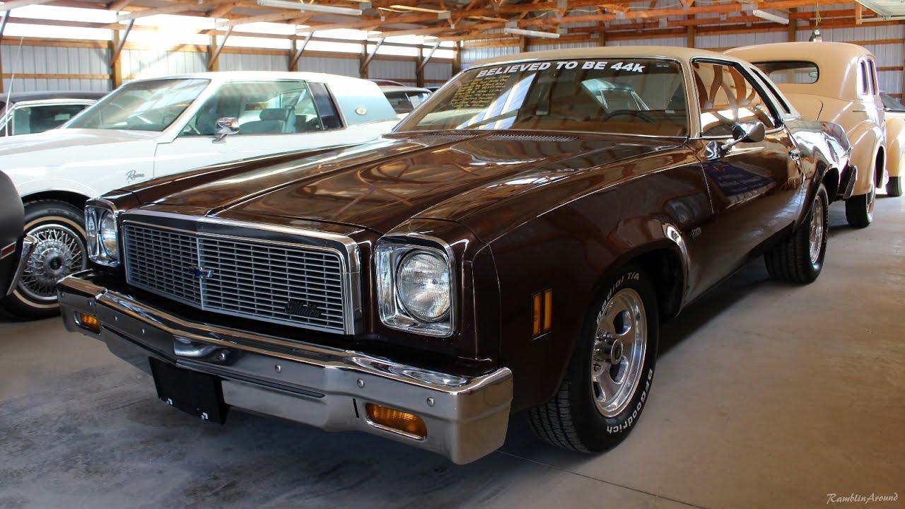 1977 Chevy Malibu V8 44,xxx Original Miles - YouTube