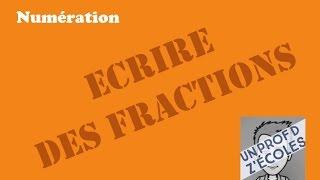 Ecrire une fraction sous la forme d'un nombre entier et d'une fraction inférieure à 1