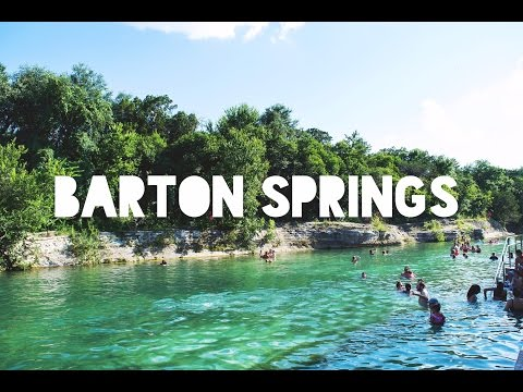 Barton Springs Pool - Austin Texas