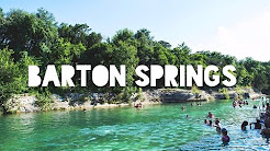 Barton Springs Pool - Austin Texas