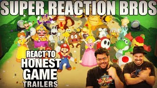 SRB Reacts to Mario Party (Honest Game Trailers)