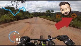 Drift Trike Serra da Moeda lado B - Quebra Molas obstáculo natural. Lukinha 199