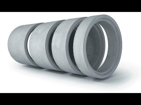 Дешёвый цемент, дешёвые бетонные кольца - YouTube