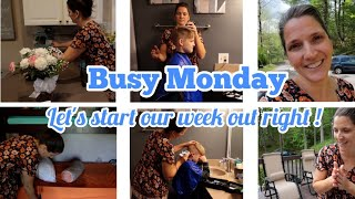 Busy Monday | MOTIVATIONAL DAY