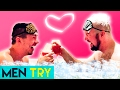 Men Try Valentines Date Idea for Under $30
