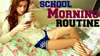 My Morning Routine for School 2015