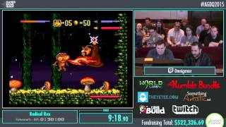 Awesome Games Done Quick 2015 - Part 115 - Radical Rex by Omnigamer