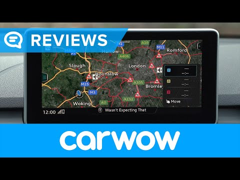 Audi A4 Saloon 2017 infotainment and interior review | Mat Watson Reviews
