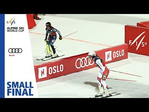 Holdener vs. Swenn Larsson | Small Final | Oslo (City Event) | Ladies' PSL | FIS Alpine