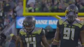 "Oregon Football Pump Up 2015-2016 - ""Not Afraid"""
