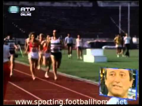 Atletismo :: Fernando Mamede (Sporting) bate João Campos numa prova de meio-fundo