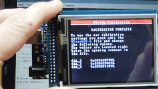ARDUINO MEGA 2560  TFT 320 QVT (видео 5)