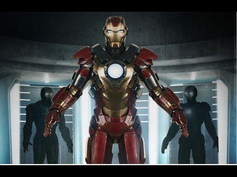 Tony Stark Hd Wallpapers Homem De Ferro 3 Novo Trailer Com Abertura De Eiffel 65 E