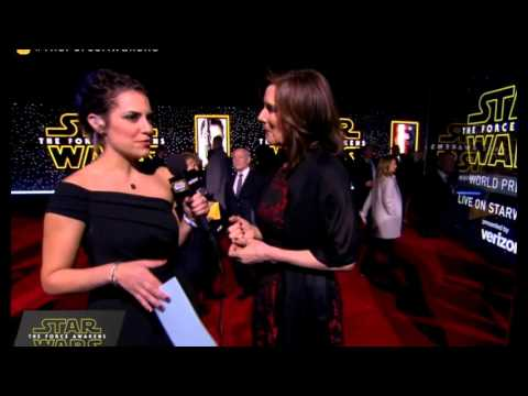 Kathleen Kennedy Interview - Star Wars The Force Awakens Red Carpet