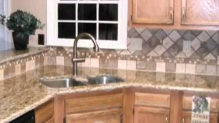Tile Backsplash Designs-Spice up your granite countertops with custom tile designs.(, 2011-10-09T19:26:23.000Z)