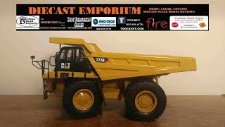Classic Construction Models (CCM) Caterpillar 777G Off-Highway Truck