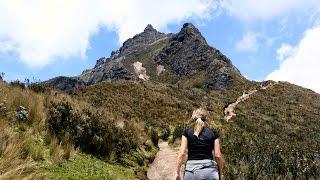 Trekking to 15,413 feet atop Rucu Pichincha in Ecuador