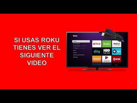 SI USAS ROKU TIENES QUE VER EL SIGUIENTE VIDEO
