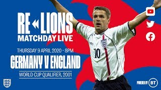 Germany 1 5 England Full Match World Cup Qualifier 2001 ReLions