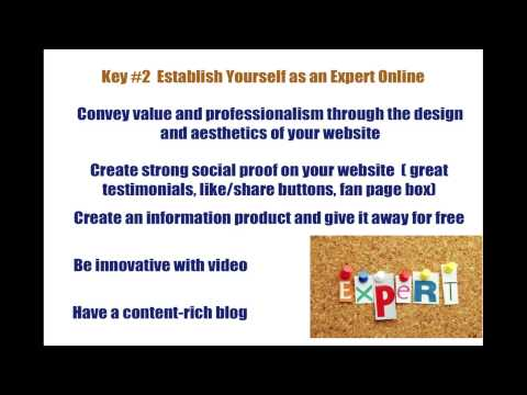 Holistic Practitioners and Coaches- 3 Keys to Get Clients Online