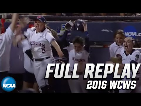 Auburn Vs. Florida State: 2016 WCWS Semifinals | FULL REPLAY