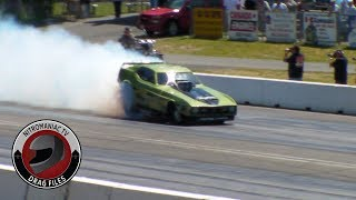 CLASSIC DRAG FILES: 11 NHRA CDN NATL OPEN AT MISSION (PT 8 - NW BB/FC ROUND ONE ELIMINATIONS)
