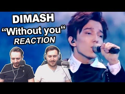 """Dimash - Without you"" Singers Reaction"