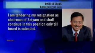 Satyam's Ramalinga Raju resigns